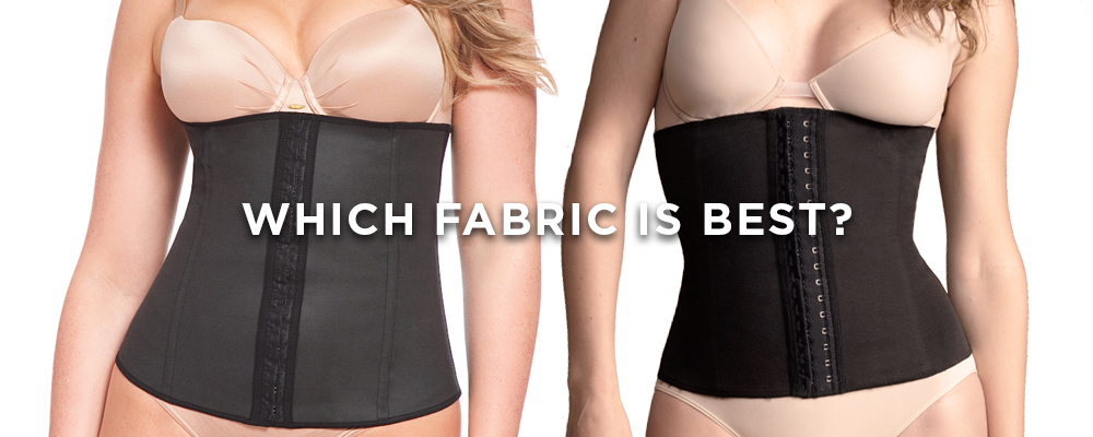 The ideal fabrics for waist trainers