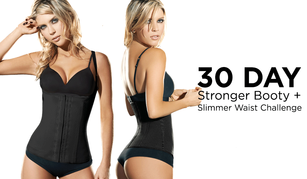 30-day butt-lifting waist training schedule