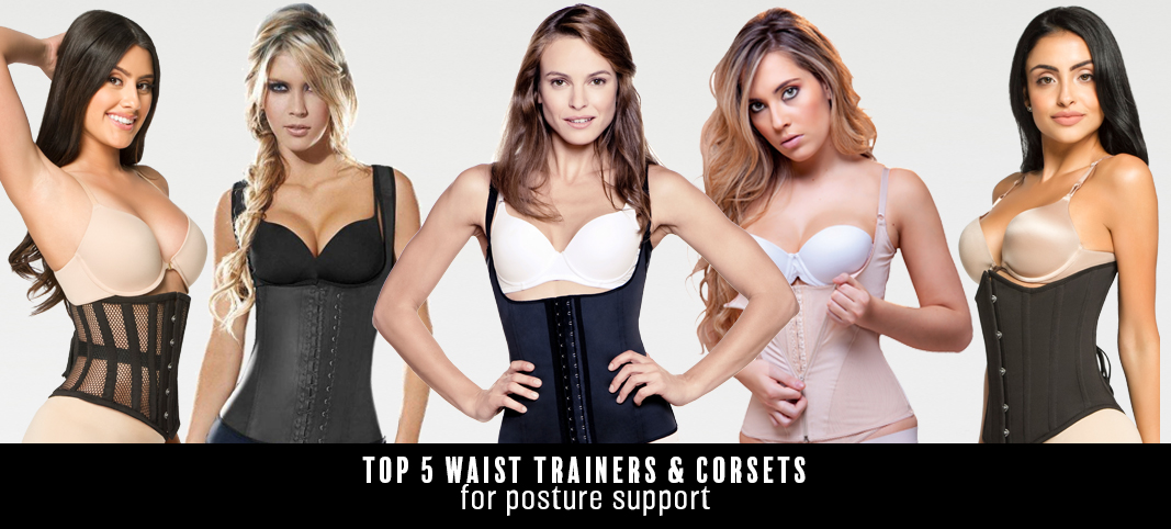 4eb1eb2d2e Top 5 Waist Trainers   Corsets for Posture Support - Hourglass Angel