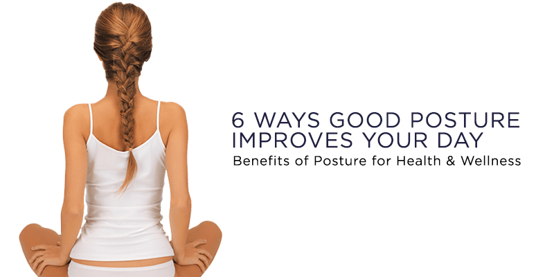 Good posture improves your energy and mood