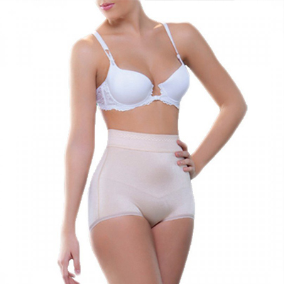 Joane High Waist Open Bottom Enhancer By Vedette